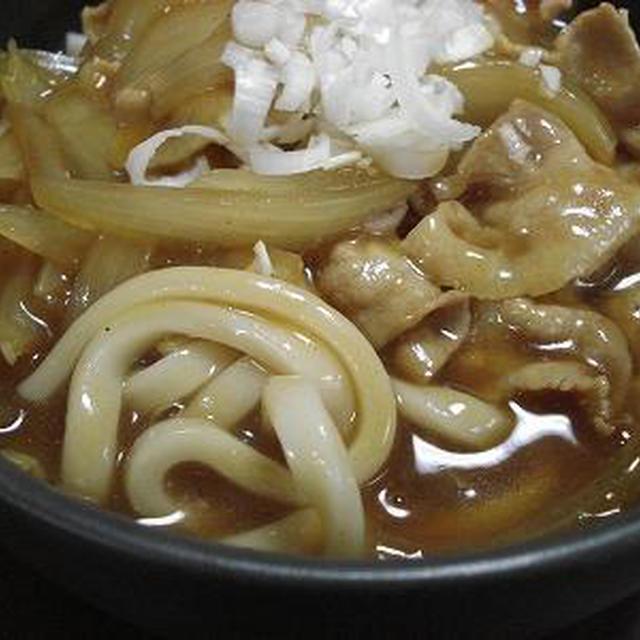 お蕎麦やさん風カレーうどん レシピ