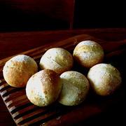 全粒粉と胡麻のパン&小麦さん♪