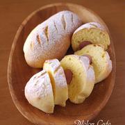 ホットケーキミックス(HM)でつくるパン、ソーセージドッグ☆春休みのおやつ、朝食&夜食に♪