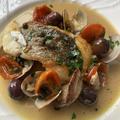 """切り身で簡単!イタリアンの定番魚料理""""アクアパッツァ"""""""