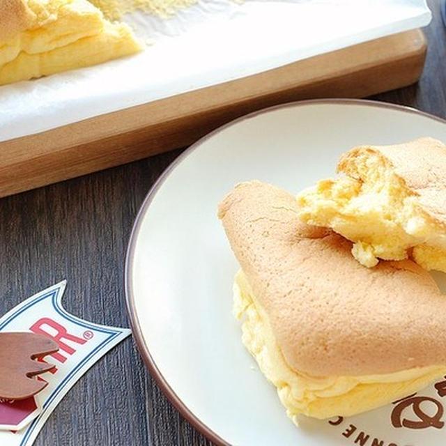 ちぎって食べたい!大容量♡超ふわっふわのたまごケーキ【不思議なイラスト】