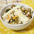 中華風のコク出しがポイント♪筍と切昆布の炊込みご飯