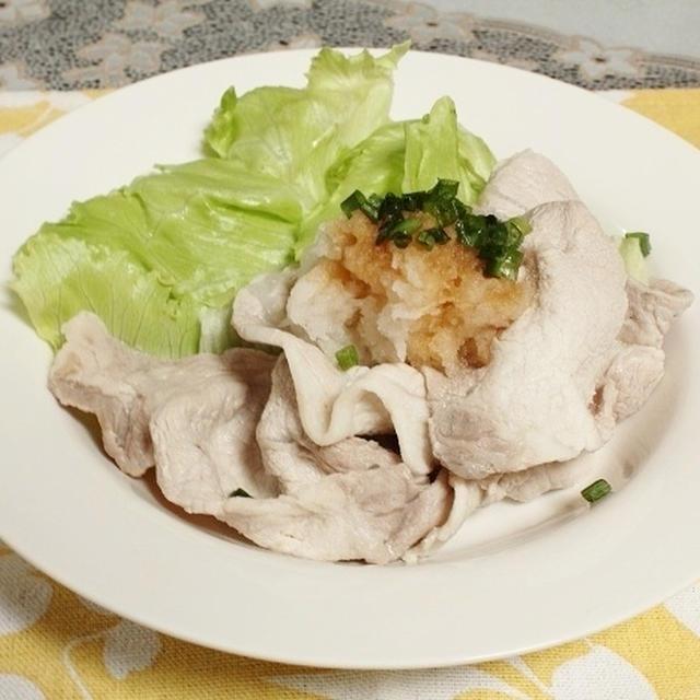 豚肉の冷しゃぶ 調理時間5~15分