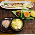 初秋刀魚食べたぞー(笑)~黒入りさつま芋ごはん~
