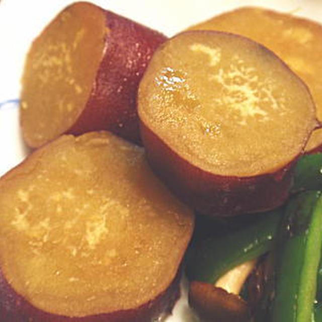 さつま芋の煮物(レシピ付)
