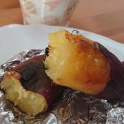 寒い日に最高♪ ストーブ de 焼き芋