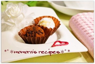 レンジで超簡単お菓子♪バレンタインデーに♡本格濃厚トリュフチョコ&サンタピンチョス話題入り感謝