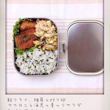 鮭フライのおべんと。