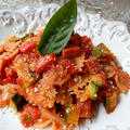 ファルファッレと夏野菜たち