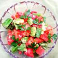 彩野菜♡キャラウェイドレッシングサラダ
