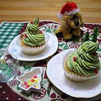 クリスマスツリーのカップシフォン