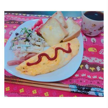 朝ごはん♡ワンプレート