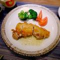 皮パリチキンソテー  柚子胡椒ソース