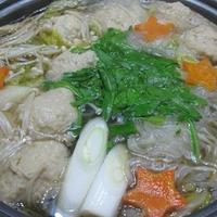 鶏団子バター鍋