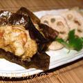 海老と蓮根の揚げ餅(米粉でもっちり)