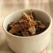 常備菜☆ごぼうとひき肉の炒め煮