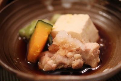 ★ 鶏かぼちゃレタスの鍋