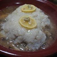 タジンでレンコン蒸し料理