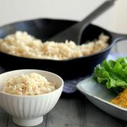 おいしい玄米ごはんと簡単和風オムレツ*ゆうたろうくんと。