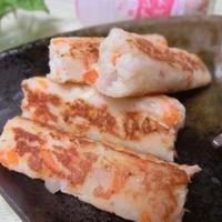 野菜くずと香りソルトで♪ ふわふわなエスニック魚肉ソーセージ風