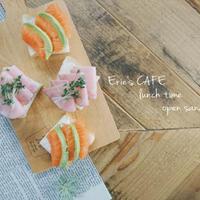 【うちカフェ】アーラクリームチーズで簡単♪オープンサンド