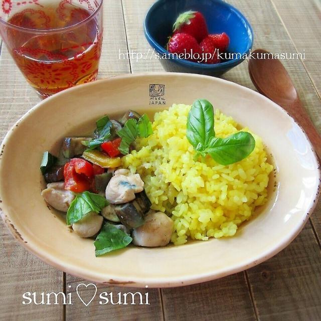 春でもHOTな♥Loi Thaiグリーンカレー