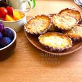 ハムと玉ねぎ&りんごコンポートのキッシュ #朝食 #朝ごはん