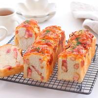 【パンレシピ】朝食におすすめ★オニオン・ベーコン・チーズブレッド