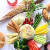 いろいろお野菜のカマンベールフォンデュ