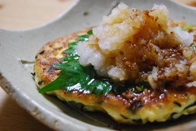 365日レシピNo.132「ひじきといんげんの豆腐ハンバーグ」