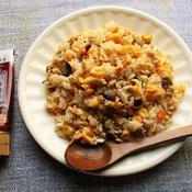 卵とミックスベジタブルの炒飯