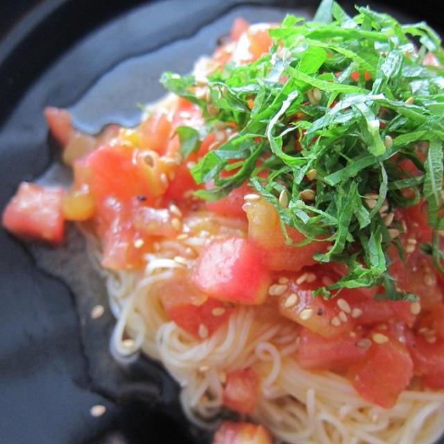 10分で完成♪完熟トマトの冷たいカッペリーニ2種