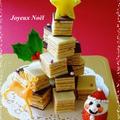 チョコバームdeクリスマスツリーケーキ☆