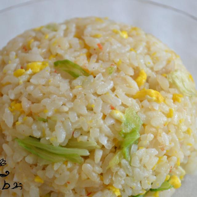 カニ炒飯♪海鮮の旨味たっぷり^^