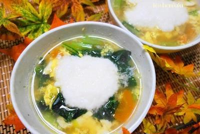 ほんわりあったかの簡単栄養スープ♪あったまろ
