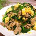 ボリューム満点!豚こまと栃木産ニラ玉炒め JA全農とちぎ ×レシピブログ