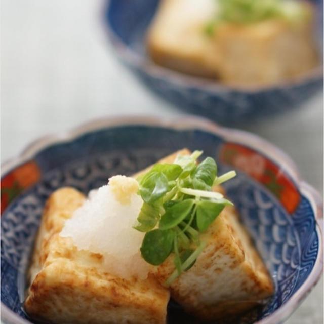 焼きだし豆腐(揚げない揚げ出し豆腐)