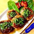鮭と蓮根の味噌ハンバーグ【お魚ハンバーグ】