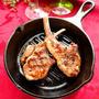 漬けて焼くだけ♡ハーブマリネのラムチョップグリル【#スキレット #グリルパン #LODGE】