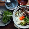 温まる!牡蠣の土手鍋(〆は雑炊)