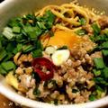 ラ王つけ麺de台湾まぜそば♪