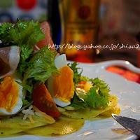 +*クリスマス2014 プレミアムモルツとじゃが芋のガレットサラダ+*