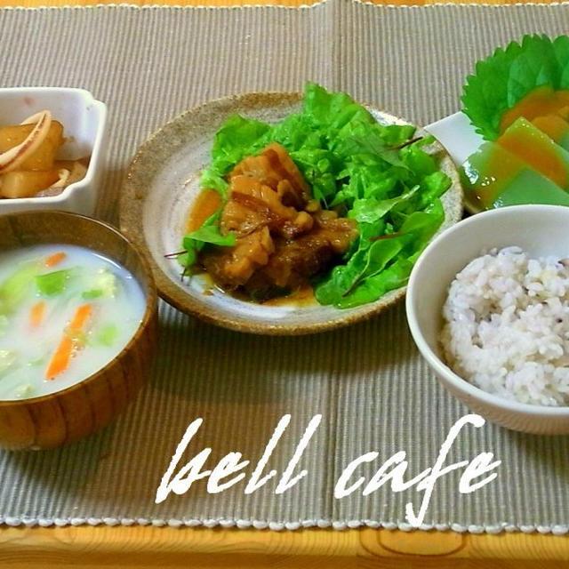 【おばんざい】イカと大根の生姜煮