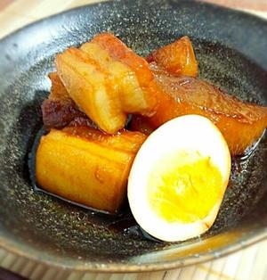 フライパンで簡単☆豚の角煮☆と1日入園