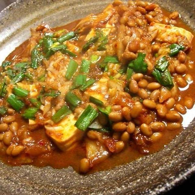 ケンテツ流 マーボ豆腐