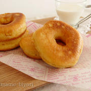 ふんわりもちっと!おうちで作る「豆乳ドーナツ」レシピ