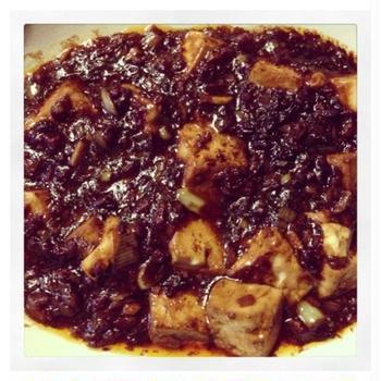 日本のお味噌を使った麻婆豆腐