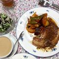 7月第1週の教室、シンプルな洋食