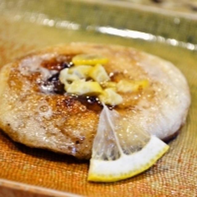 【お餅の塩レモンバター焼き】明日から新学期