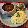 Garbanzo bean  burdock  tomato pork curry☆ひよこ豆とごぼうのポークカレー☆